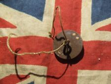 Rare Original WW2 British Airborne Escape Battledress Epaulette Button Compass