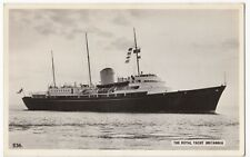 Royal Yacht 'Britannia' RP PPC, Unposted, By Hayling Island Photographic
