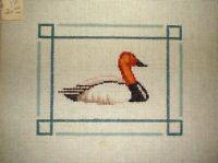 MZC Small Duck Bird HP Hand Painted Needlepoint Canvas