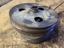 1973 OLDSMOBILE 98 8-455 ENGINE PULLEYS AS PICTURED 371431