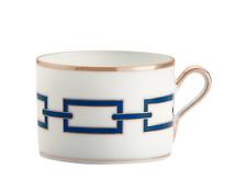 Catene Zaffiro Of Richard Ginori - 6 Cups Tee Cc 220 With Dish - Dealer