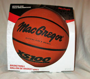 MacGregor XS100 Official Size Basketball NEW