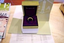"""Van Cleef and Arpels, 18K Yellow Gold, """"Perlée"""" variation Ring Sz 6  all papers"""