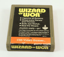 Vintage  Atari 2600 game Wizard Of Wor By CBS Electronics Tested and Working