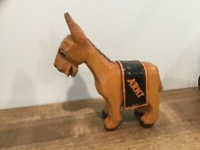 Vintage Anri Carved Wood Italy West Point Mascot Black Knights