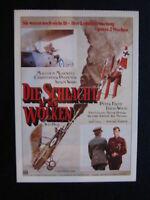 Filmplakatkarte cinema  Die Schlacht in den Wolken  C.Plummer, M.McDowell