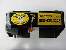 SHIPPING CONTAINER LOCKS FITS SEA CONTAINER AND TRAILER