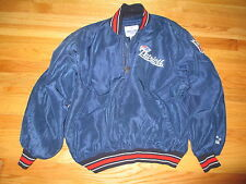 Starter NEW ENGLAND PATRIOTS Embroidered 1/4 Zippered (LG) Jacket