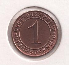 Sehr schöne Kursmünzen aus Kupfer der Inflation & Weimarer Republik