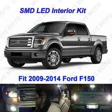 15 x White LED interior Backup Fog License Plate Lights for 2009-2014 Ford F150