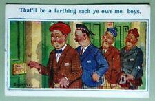 Postcard 1940s Donald McGill Comic/Seaside.D.Constance.159.P/Mk Scarborough