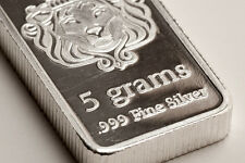 Scottsdale Silver Bullion Bar 5 Gram .999 Fine Silver