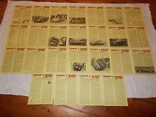 FERRARI 1992 Ferrari Market Letter 25 ISSUES Vol 17 512TR 250LM Dino 206GT 456GT