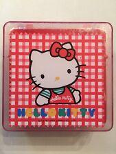 Rare Vintage Sanrio 1990 Hello Kitty Jewelry Box Case
