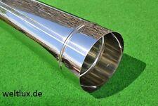 Ofenrohr Rauchrohr Edelstahl Schornstein Sanierung Rauchrohr Abgasrohr 0,6 mm