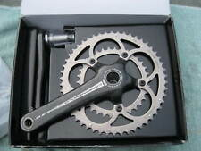 CAMPAGNOLO CARBON CHORUS COMPACT ULTRA TORQUE CHAINSET 34/50, 170mm  USED IN BOX
