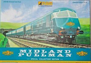 Graham Farish 370-425,N gauge, Midland Pullman 6 car  Special Collectors Edition