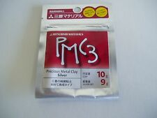 PMC3 Mitsubishi Precious Metal Clay 10g  Silver Art Clay Pack (9g Silver Weight)
