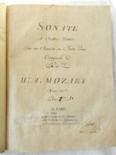 * RARE : PARTITIONS ANCIENNES DE MUSIQUE CLASSIQUE - MOZART - HAYDN - ROSSINI...