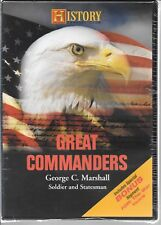 History Channel Great Commanders George C Marshall, FDR: The War Years NEW DVD