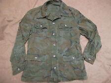ARVN ERDL green US ARMY SF ADDVISOR RANGER VIETNAM WAR BDU COMBAT COAT JACKET