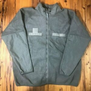 USGI Fire Resistant Extreme Weather Outer Layer Fleece Jacket Full Zip