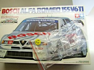 Tamiya 1:24 Scale Alfa Romeo 155 V6 TI DTM Sprue 'D' Clear Parts only loose part