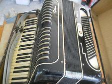 Akkordeon von Grimm aus Klingenthal hist. Musikinstrument mit Koffer