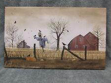 After The Harvest Fall Scarecrow Canvas Home Decor Billy Jacobs Barn Farm House