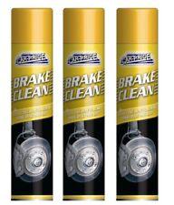 3 x Carpride Brake Cleaner Spray 250ml Can Effective To Remove Break Dust & Dirt