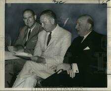 1965 Press Photo New Orleans Committee delegates during meeting in Baton Rouge