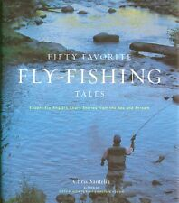 SANTELLA FLYFISHING BOOK FIFTY FAVOURITE TALES ANGLERS hardback BARGAIN new