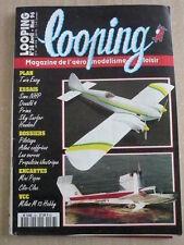 LOOPING modélisme n°38 /1996  Plan encarté MINI POPOV et CLIC CLAC