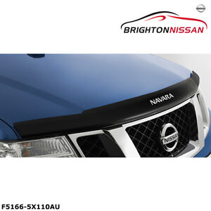 Genuine Nissan Navara D40M Smoked Bonnet Protector F51665X110AU