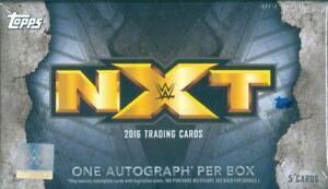 "NXT 2016 ""FACTORY SEALED MINI BOX"" TOPPS NXT 2016"