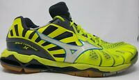 Volleyball shoes Mizuno Wave Tornado XM V1GA161242 green multicolored UK 10.5