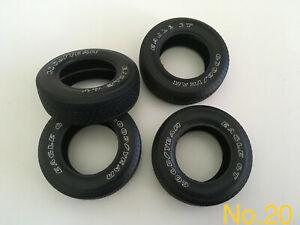 "1/8 Scale Tyres ""set of 4x""  Monogram Revell  No.20"