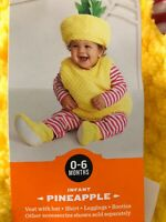 Costume Hyde And Eek! Pineapple Fruit Infant Size 0-6 months Baby
