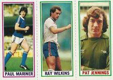 1981-82 Topps England Football Hand Collated Complete Set (1-187)  + Card Album