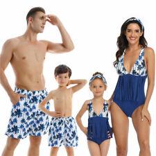 Слитный купальник подходящие семейные наряды родитель ребенок детский купальный костюм, пляжная одежда,