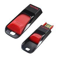 SANDISK CRUZER EDGE USB FLASH DRIVE 16GB 16G 16 G GB NEW LIFE TIME WARRANTY