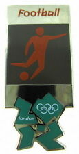 2012 London Olympics official pictogram SOCCER Football pin badge - Mint