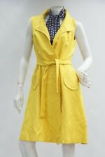 Vintage 60s Yellow Flight Attendant Stewardess Uniform Dress