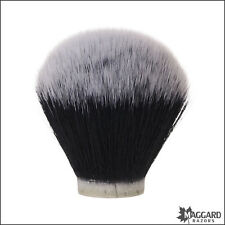 Maggard Razors 28mm Black & White Synthetic Shaving Brush Knot Only