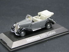 Schuco Mercedes-Benz 170 V Cabrio 1:43 Grey / Black (JS)