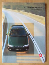 CITROEN Xsara Hatchback & Estate 1998 UK Market prestige sales brochure