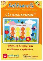 Sabbiarelli, Album speciale - Le cornici portafoto 100AL0534 giochi educativi