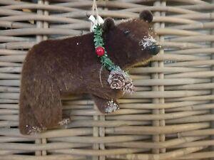 Gift Company  X Mas / Christmas Weihnachten Anhänger Bär braun  NEU