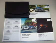 Owner's Manual + Cartera BMW 1-Series F20/F21 Desde 2015