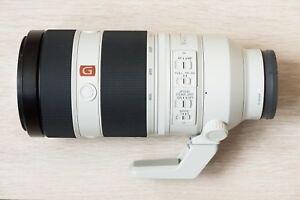 New Sony FE 100-400mm F4.5-5.6 GM OSS G Master Zoom Lens SEL100400GM a9 a7R II